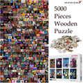 MOMEMO 5000 штук деревянные головоломки Индивидуальные игрушки