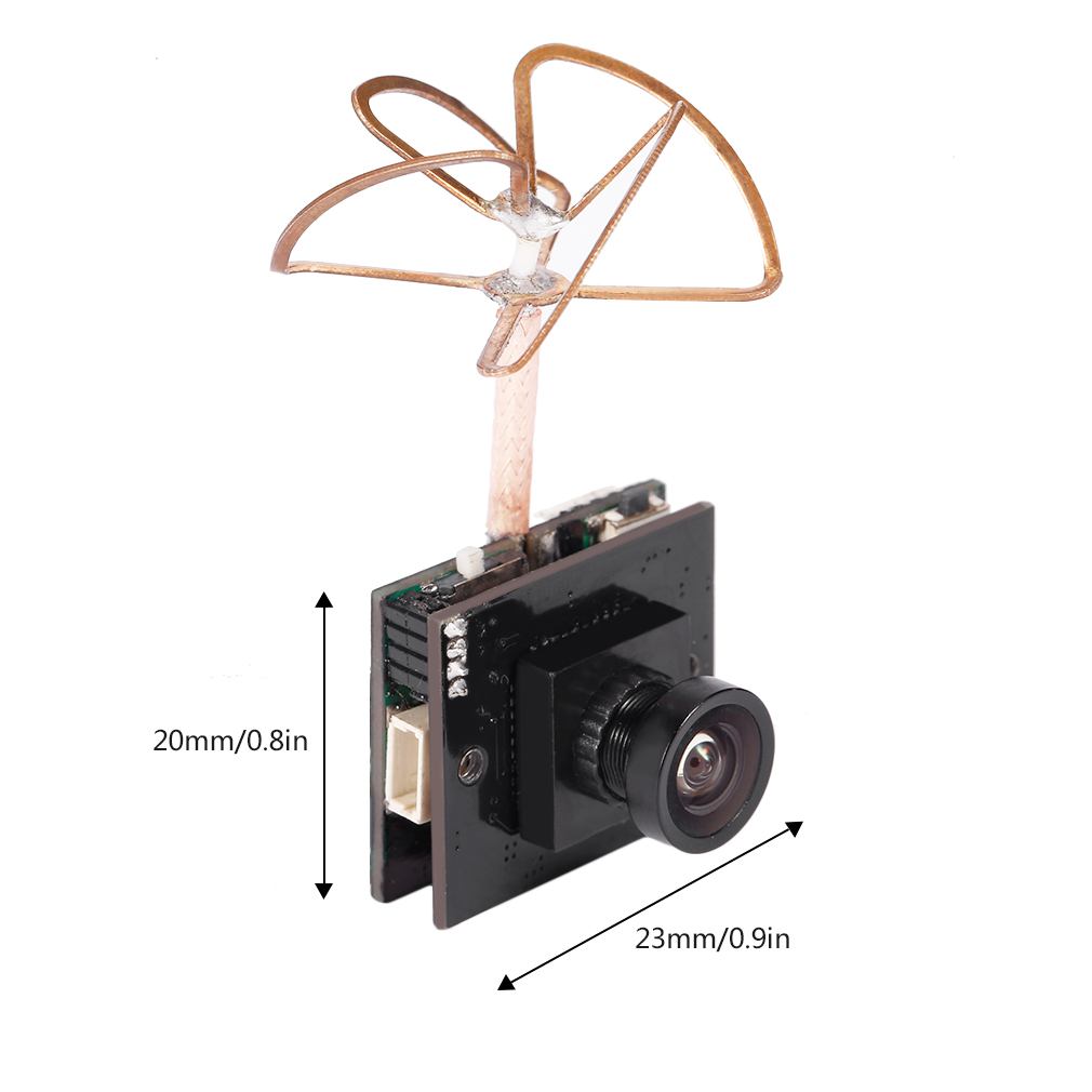 Mini Quality Transmitter 25/200/600mW Switchable 5.8G 48 CH FPV 800TVL Camera Built in Transmitter For RC Drone FPV