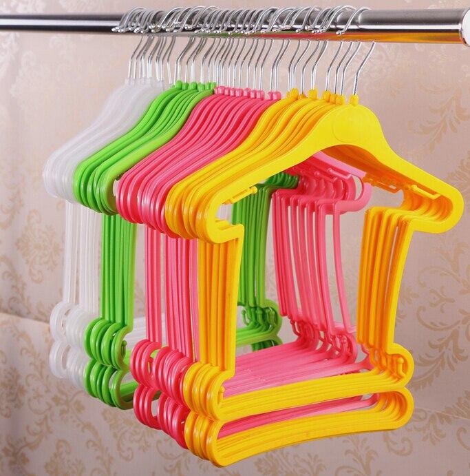 Hangerlink Stil i Ri Petite plastike e varur për foshnje, fëmijë, - Magazinimi dhe organizimi në shtëpi - Foto 1