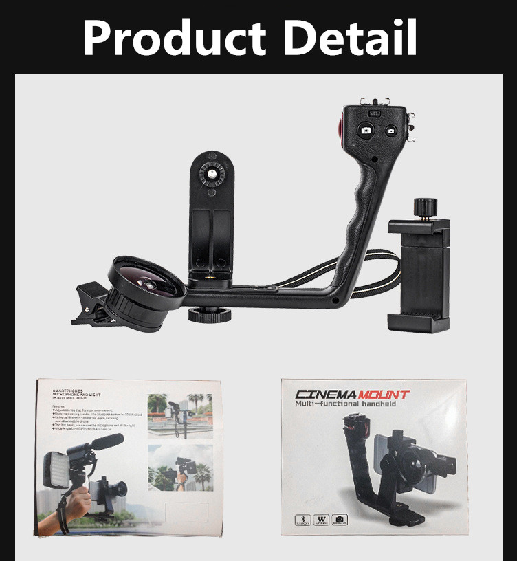 L Selfie Stick for android for Iphone Bluetooth (4)