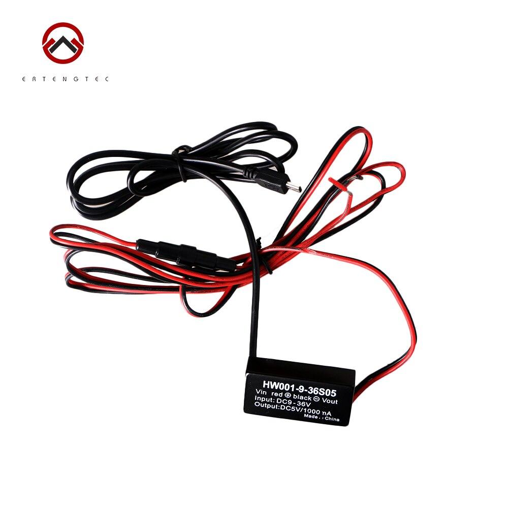 imágenes para Hard-wired Del Cargador Del Coche 9-36 V para Accesorios TK102 TK102 TK201 GPS Tracker TK201-2 Xexun Original XT107