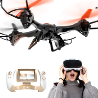 FAST TRAK WIFI RC Quadcopter Drone with HD Camera, VR 3D View, FPV function, 2.4G 4CH 6 Axis Gyro Headless Mode For Beginners