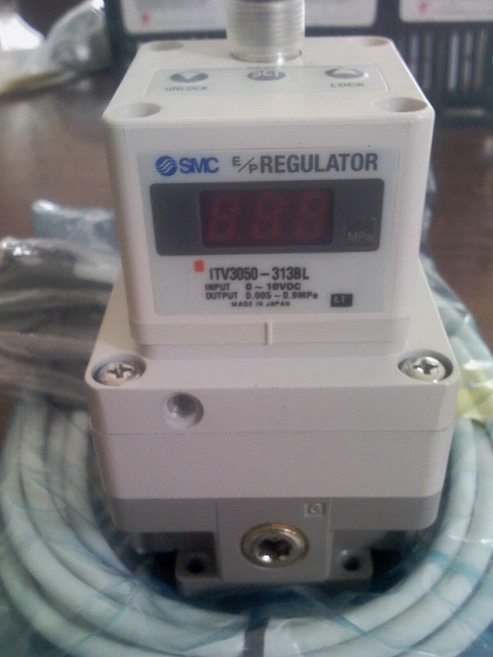 SMC ITV3050-312L  ELECTRO/PNEUMATIC REGULATOR, 24VDC Rc1/4 PORT NEW