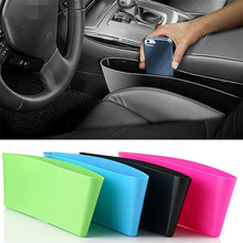 Car Storage Organizer Box Trash Garbage Bag Seat Slit Pocket Crevice Seam Holder