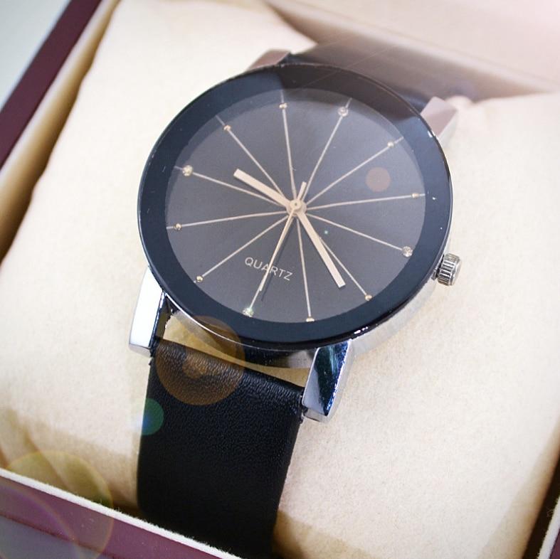 Luxe quartz sport horloges mannen vrouwen roestvrij stalen - Herenhorloges - Foto 2