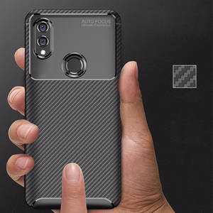 Image 5 - For Honor 10 lite Case Carbon Fiber Cover 360 Shockproof Silicon Phone Case on for Huawei P Smart 2019/Honor10 Lite Cover Bumper
