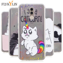 TPU Soft Cartoon Cat Case For Huawei Mate 20 Lite Case Luxury Painted Phone Case For Huawei Mate 10 Lite Mate 10 Pro Cover Caque