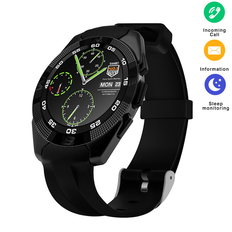 New G5 Smart Watch Heart Rate Monitor Bluetooth Smartwatch Message Reminder Fitness Tracker Pedometer Wristwatch for Android IOSNew G5 Smart Watch Heart Rate Monitor Bluetooth Smartwatch Message Reminder Fitness Tracker Pedometer Wristwatch for Android IOS