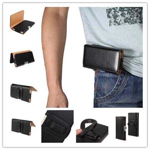 5.5inch Belt Cover Case For Oukitel K3 Men Leather Pouch Holster Belt Clip Universal Mobile Phone Bag For Oukitel K6000 U10 U13