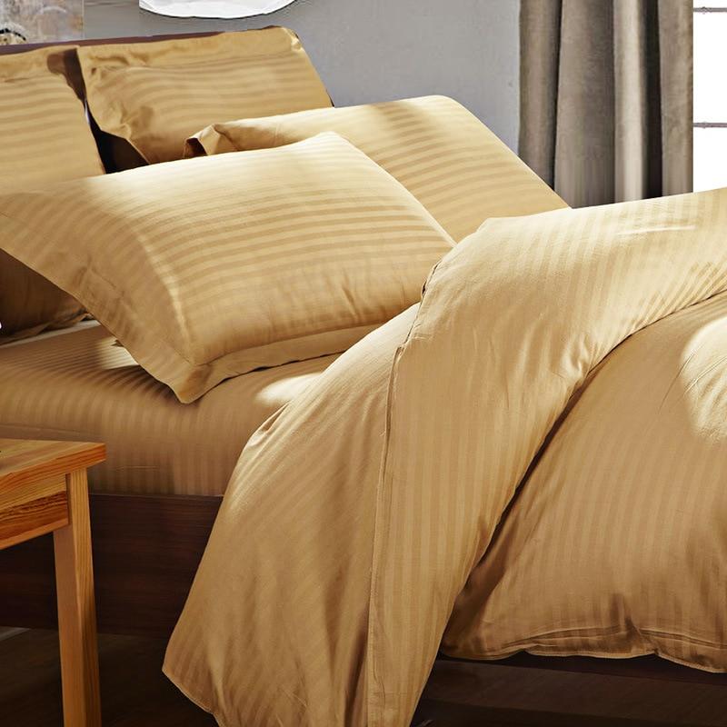 Hide A Bed Sheets: 2016 Bedding Set 100% Cotton Twill Duvet Cover Satin Strip