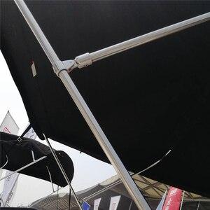 Image 5 - 2 pcs נירוסטה הולם חומרה ליכטת סירה ימית בימיני למעלה 25mm כסף עיניים סוף כובע סירת אביזרים ימי