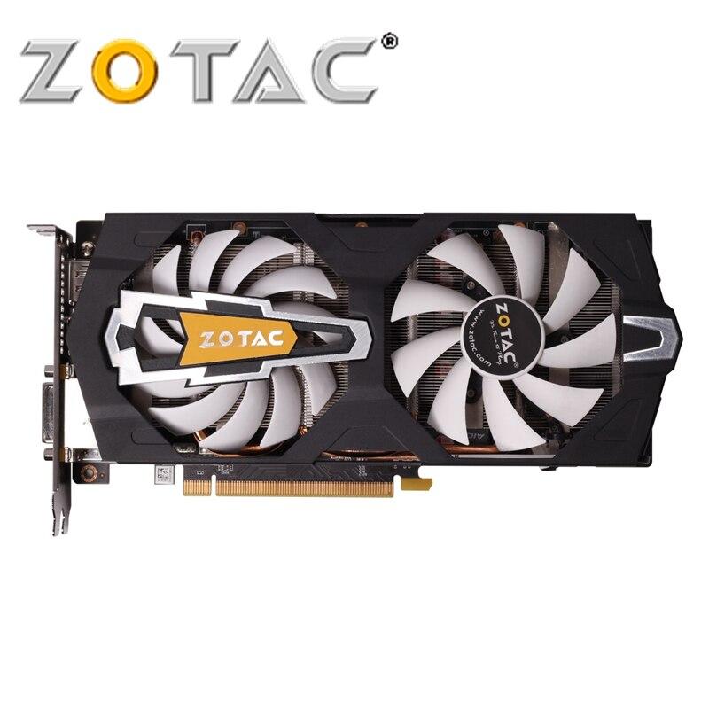 ZOTAC Carte Vidéo GeForce GTX 660 2 GB GDDR5 192Bit Graphiques Cartes pour nVIDIA Carte Originale GTX660-2GD5 Dévastateurs Hdmi Dvi