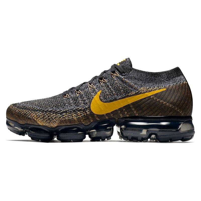 Chaussures de course pour hommes Nike Air VaporMax Flyknit authentiques de bonne qualité Jogging classique chaussures de Designer athlétique 849558