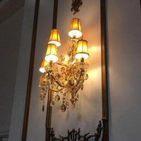 איטליה מקורה זהב אור מנורת קיר מנורות קיר מסדרון סלון תאורה עכשווי סלון אור Led נרות אור Abajur