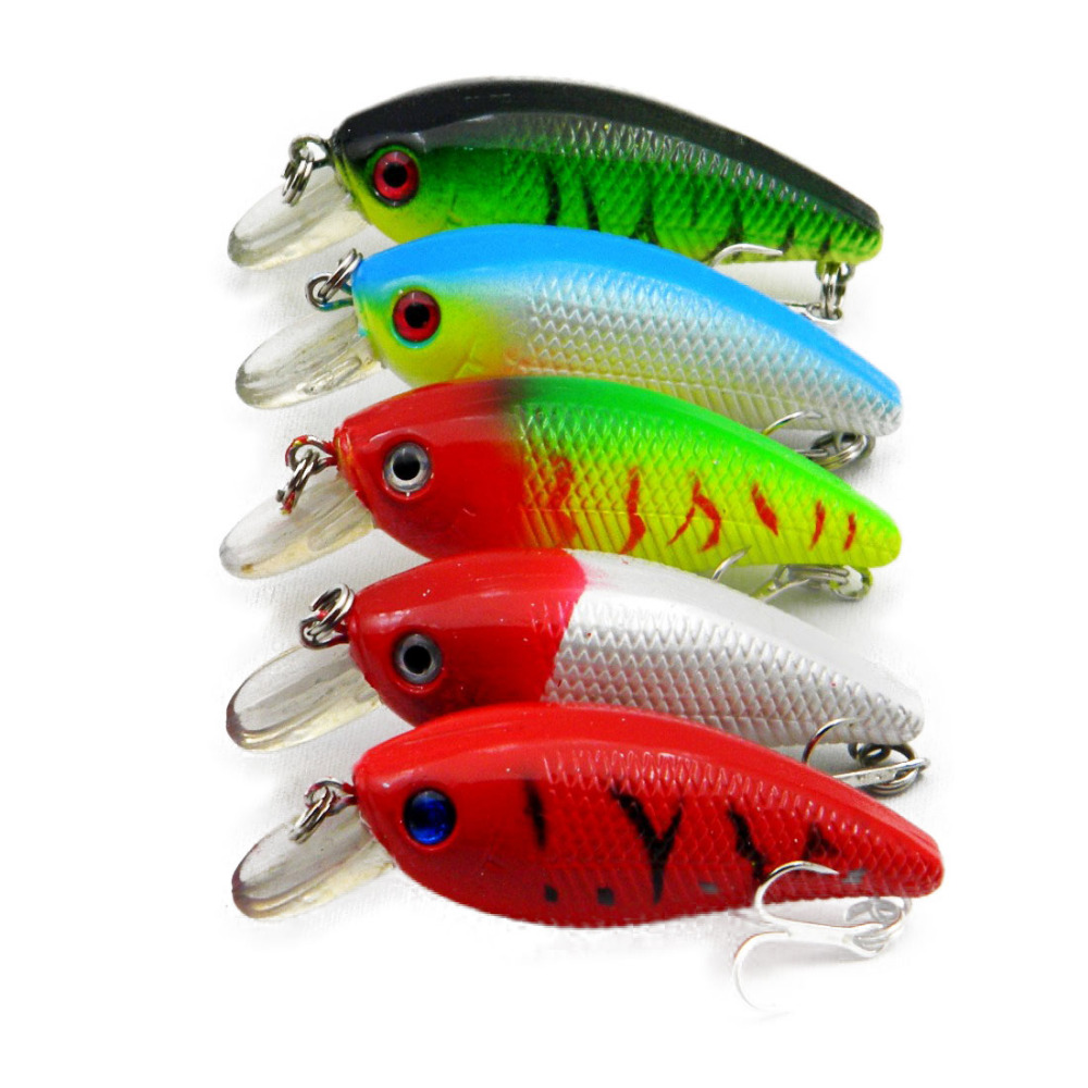 New Crankbait Fishing lures 6.5CM-9.2G-8# hooks fishing tackle protein pesca lure wobbler plastic hard artificial lures