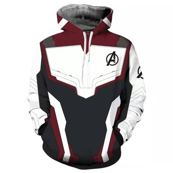 Avengers Endgame 4 Quantum Realm 3D Print Hoodies Men women Fitness Pullover Sweatshirts Coat Cosplay Costume Streetwear 1