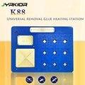 Jyrkior постоянная температура подогреватель платформы Unverisal IC чип станция для удаления клея для iPhone A9/A10/A11/A12 NAND PCIE инструмент