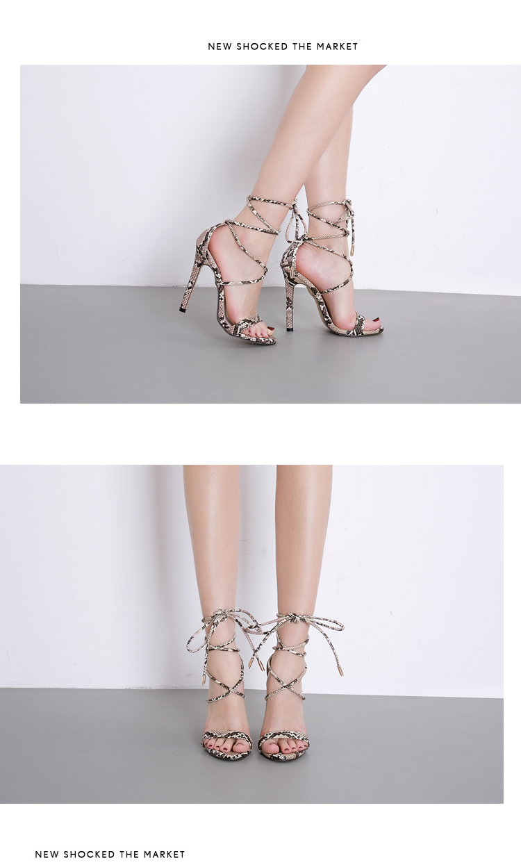 HTB1kB7RX2vsK1Rjy0Fiq6zwtXXaB Aneikeh Fashion 2019 Summer Women's Sandals PU Lace-Up Thin High Heels Cover Heel Shallow Mature Serpentine Dance Solid 35-40