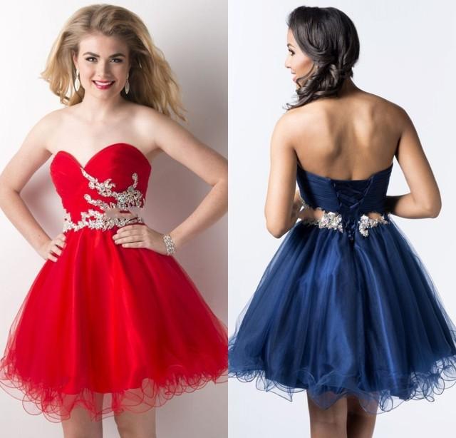 Los mejores vestidos cortos para graduacion