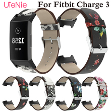 For Fitbit Charge 3 frontier/classic silicone printing bracelet wriststrap smart watch wristband accessories