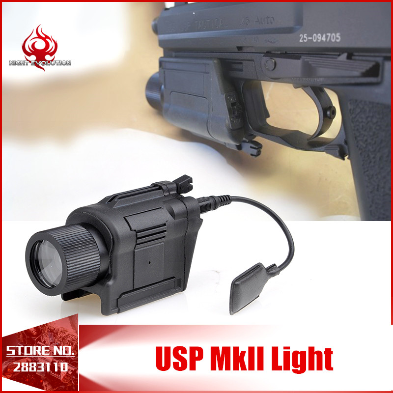 Element Tactical LED Weapon Lights Outdoor Hunting HK Light Gun Mount USP Pistol Airsoft Military Flashlight Streamlight NE01005 greenbase tactical weapon light sf x300 hunting flashlight airsoft pistol scout light constant momentary output picatinny rail