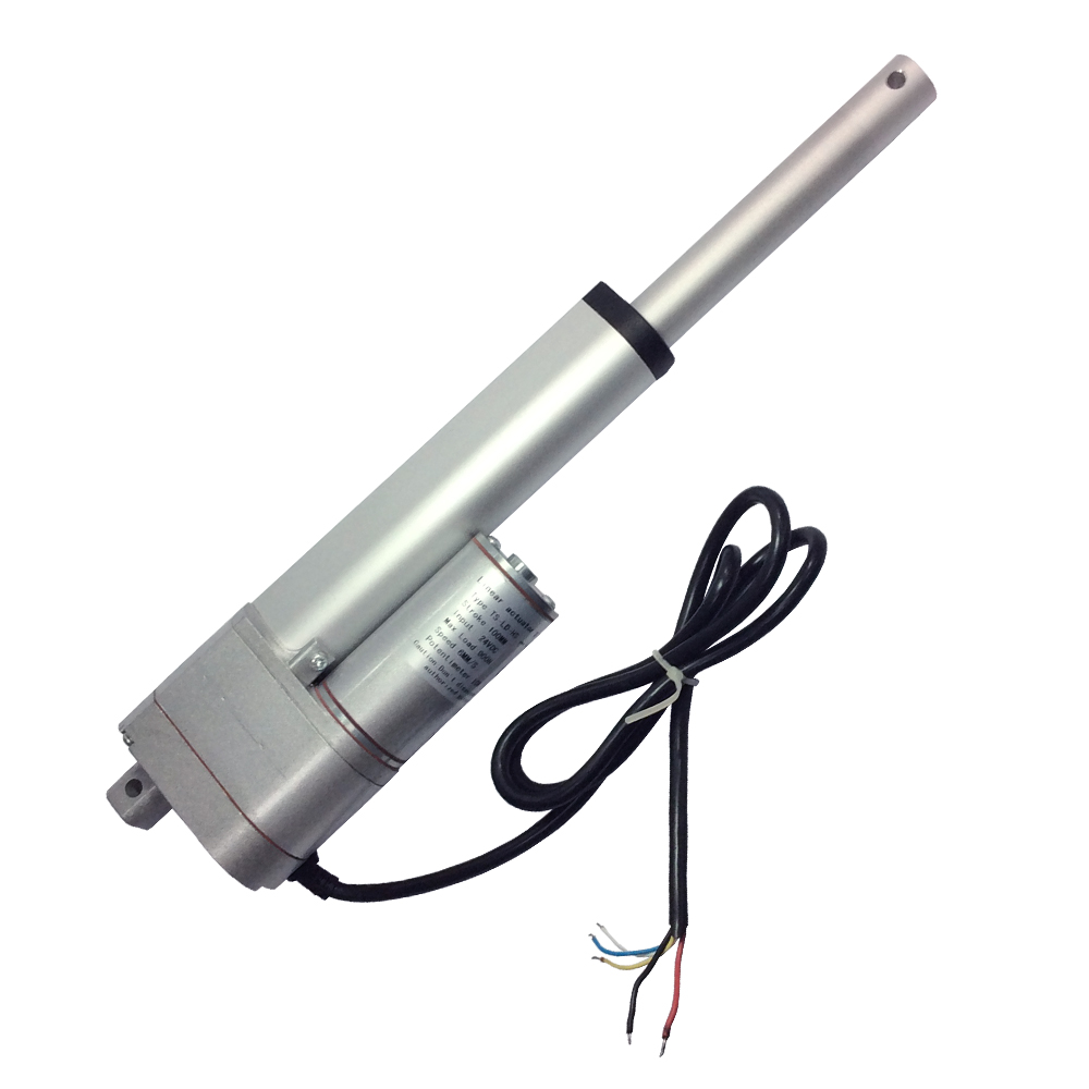 LD-HS Electric Linear Actuator Motor 12V 24V 6-20mm/s 450-900N Torque 50-200mm Storke Actuator With 10K Potentiometer Feedback LD-HS Electric Linear Actuator Motor 12V 24V 6-20mm/s 450-900N Torque 50-200mm Storke Actuator With 10K Potentiometer Feedback