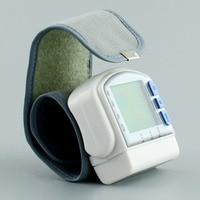 LCD Kỹ Thuật Số cuff Wrist Blood Pressure Monitor xem Chính Xác Y Tế Máy Đo Huyết Áp Meter