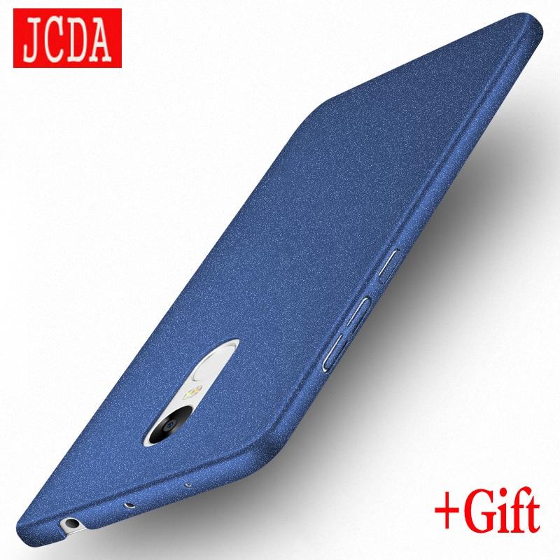 MSVII Brand For Xiaomi Redmi 4 4 pro prime 3S note 3 4 4X phone case Silicone cover Luxury Hard Frosted PC xiaomi mi 4 5 5s case