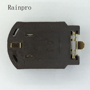 Image 2 - Rainpro 10 cái/lốc BS 8 CR2032 CR2025 vàng mạ nút pin chủ 2032 Hộp Pin Ổ Cắm Trường Hợp