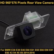 PAL HD 960*576 Pixels Car Parking Rear view Camera for BMW E38 E39 E46 E60 E61 E65 E66 E90 E91 E92 X3 X4 X5 X6 2014-2016