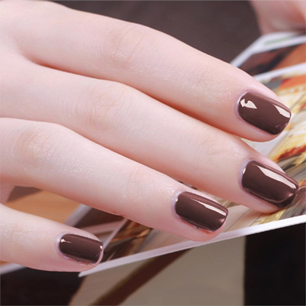 Fashion Pure Colors Gel Nail Polish UV Nail Art DIY Decoration for ...