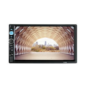 Image 5 - 7010B 7 인치 자동차 다기능 플레이어, 터치 스크린 블루투스 MP3 플레이어 RM/RMVB/BT/FM 플레이어 MP5 플레이어 자동차 라디오
