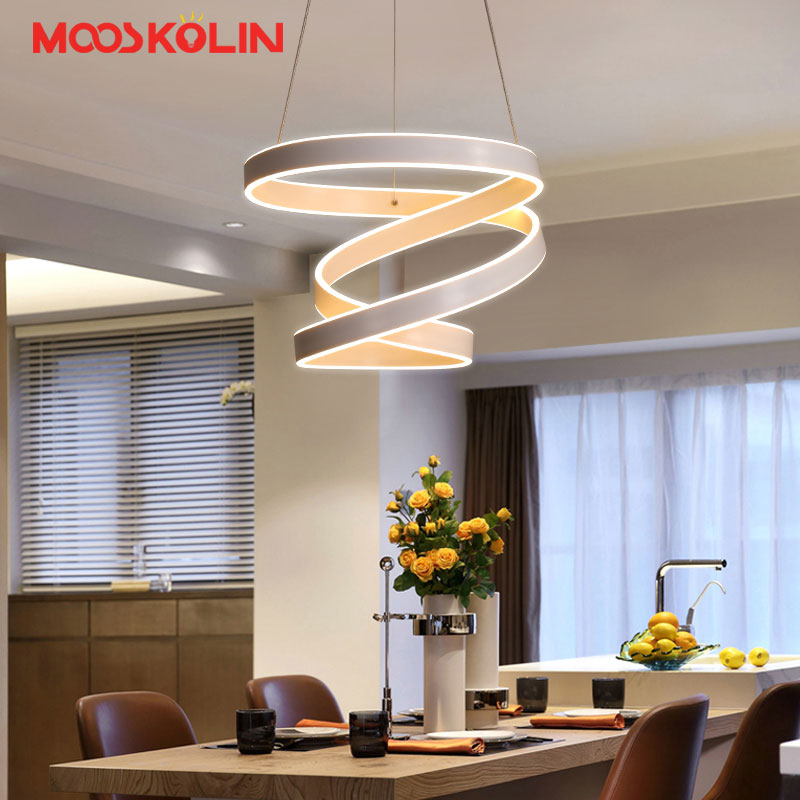 Modern led Pendant Light for Kitchen Dining Room Restaurant Suspension luminaire Hanging White Black Bedroom Pendant Lamp avize modern led pendant light for kitchen dining room living room suspension luminaire hanging white black bedroom pendant lamp avize