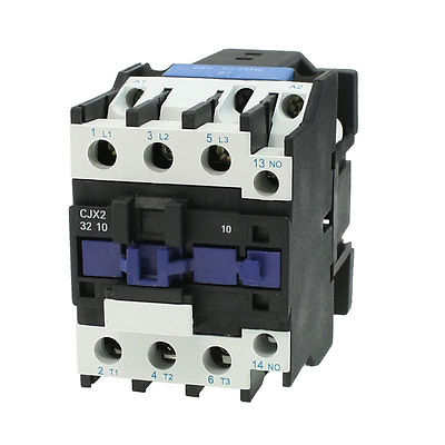 цена на CJX2-32 380V Coil 50A DIN Rail 3P Three Pole 1NO 1NC 24V AC Contactor