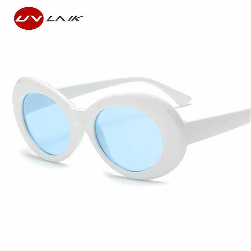2c772ab55d ... UVLAIK Clout Goggles Round Sunglasses For Women Men NIRVANA Kurt Cobain  Mirror Glasses Retro Female Male ...