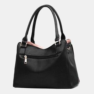 Image 3 - Женская сумка мессенджер, новинка 2020, женская сумка с верхней ручкой, простые сумки на плечо для девочек, женские сумки для леди, модные вечерние сумки