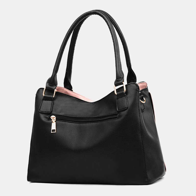 Women Messenger 2019 New Tide Female Top-handle Bag Girls Simple Shoulder Bags Women Handbags for Lady Totes Fashion Party Pack