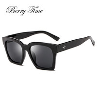 Berrytime Square Sunglasses Men High Quality Gentle Glasses Shades Accessories Lot Wholesale Sunglass Lunette Homme 40