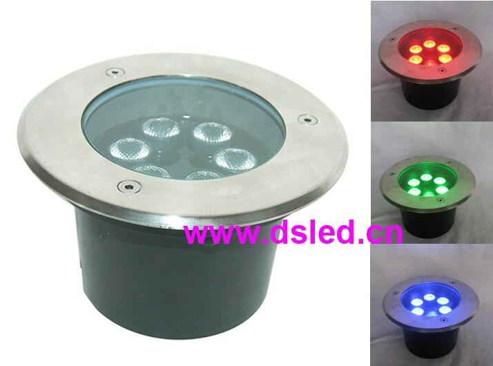 цена на Free shipping by Fedex IE,CE,good quality, high power IP67 18W RGB LED underground light, 10pcs/Lot,DS-11C-D150-18W-RGB,24V DC