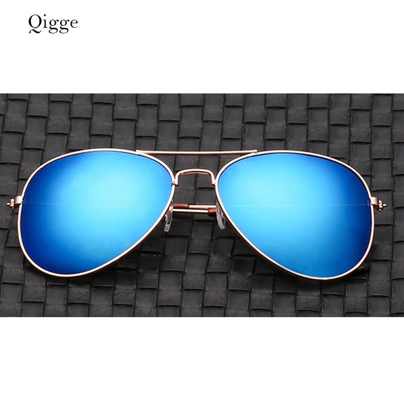 Qigge Nuevo Aviador Gafas de Sol de Marco de Metal Unisex UV400 Gafas - Accesorios para la ropa - foto 4