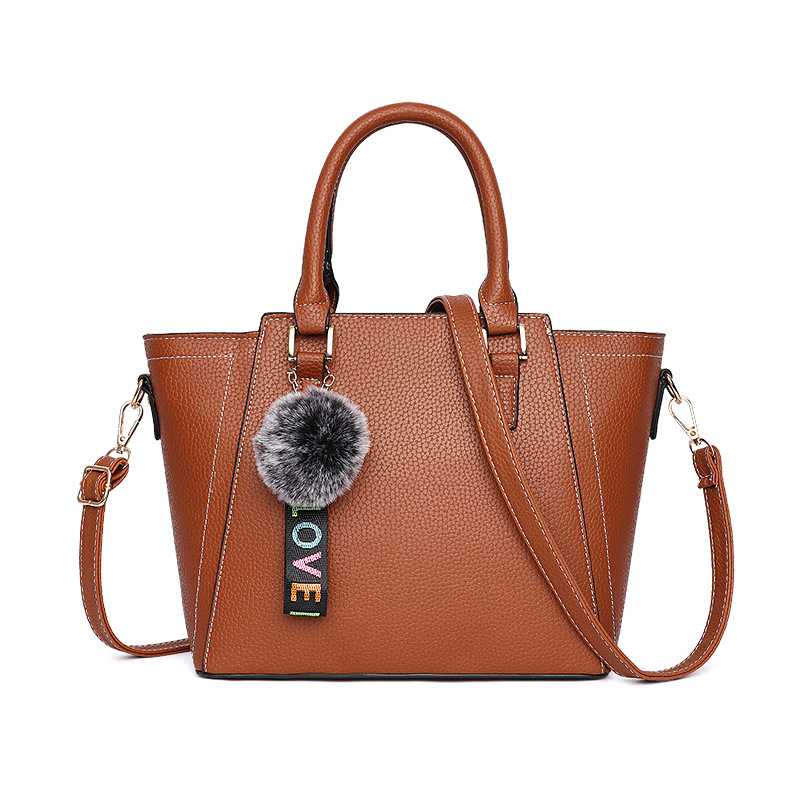 Female Bag 2018 New Korean Version Style Fashion Female Trapeze Bag PU Shoulder Handbag Bag 2018 women s new handbags made of pu in korean version 3pcs handbag shoulder bag purse