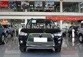 Высокое качество нержавеющей стали передняя решетка вокруг гонки грили 3 шт./компл. для 2010 2011 2012 Mitsubishi Outlander