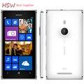 """Оригинальный телефон 925 Nokia lumia 925 Windows Phone 4.5 """"1 ГБ 16 ГБ Камеры 8.7MP GPS Wifi 4 Г Мобильный Телефон Бесплатная доставка"""