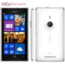 "Original 925 telefon Nokia lumia 925 Windows Phone 4,5 ""1 GB 16 GB Kamera 8.7MP Wifi GPS 4G Handy Freies verschiffen"