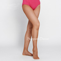 Black Toffee Pink Brand Girls Professional Fishnet Seamless Tight For Latin Ballroom Dance Women Collant Hard