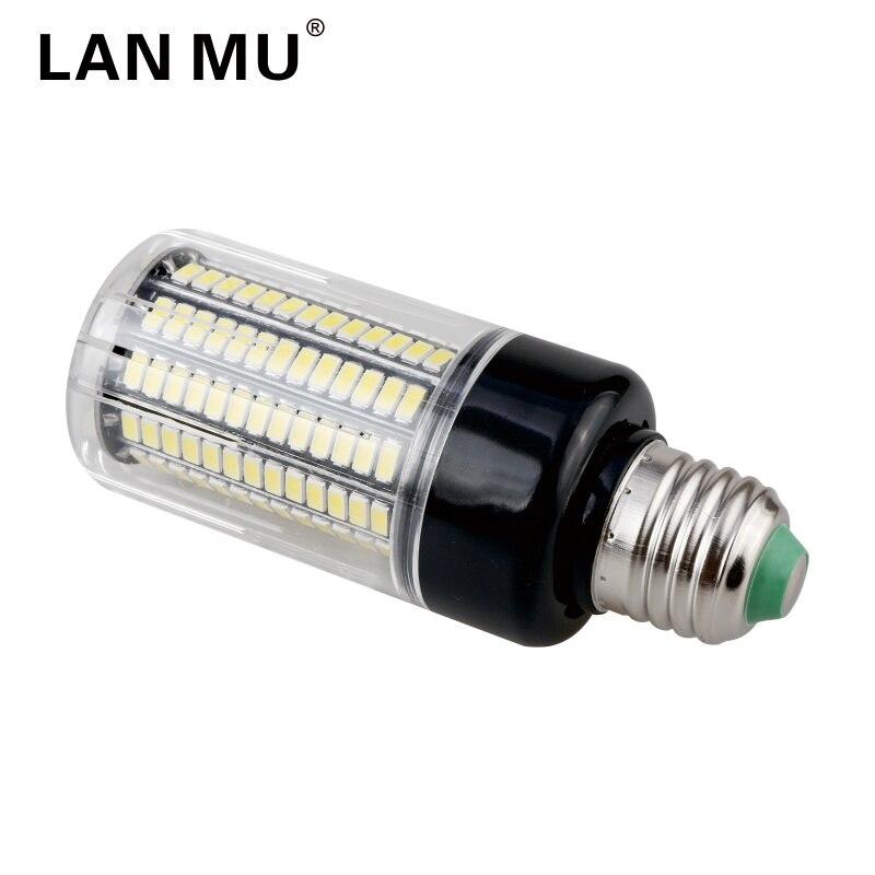 LAN MU LED Bulb Light E27 E14 5736 SMD AC 85-265V 3.5W 5W 7W 8W 12W 15W High Brightness Led Lamp 110V 220V Corn Bulb