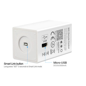 Image 3 - Milight YT1 voz por WiFi controlador remoto DC5V USB Smart 4G Android IOS APP controlador para 2,4 GHz RGB CCT RGBW tira de bombillas led