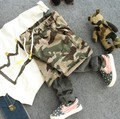 2-8Y new 2016 autumn high quality boys fashion camouflage casual pant children pant kids comfortable pant boys trousers
