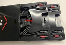 K2 акустический кабель с 72 V DBS Серебряный Банановый штекер оригинальная коробка