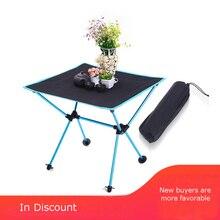 Походный портативный стол для отдыха ткань Оксфорд авиационный алюминиевый сплав легкий стол для пикника барбекю уличный складной стол FC0057